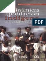 las dinámicas de la población indígena