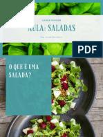 Como montar saladas (1ª parte)