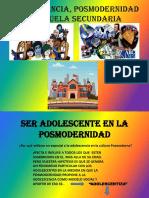 La adolescencia de la Posmodernidad