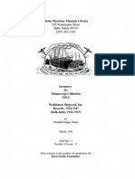 MS-002, Waldoboro Shipyard records (Finding Aid)