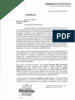 María Elena Foronda pide investigar suplantación de votos