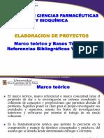 ELABORACION de PROYECTO Marco Teórico y Bases Teóricas Referencias Bibliográficas Van Couver