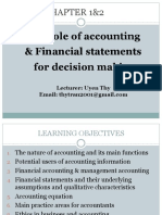 Topic 1 - Ch01&2_The Role of Accounting and Financial Statments for Decision Making