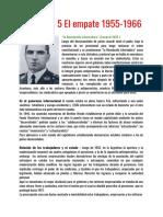 5) EL EMPATE (1955-1966)