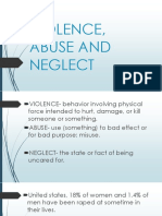 Violence Abuse and Neglect 1