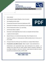 1) Requisitos y Formularios de Ingreso en PDF (1)
