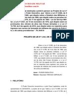 Relatório Vinicios de Carvalho Pl 1645 - 2019