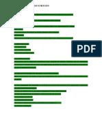 Estructura Del Informe Del Estudio de Mercados