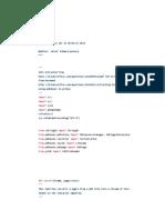 Coding Python Servel