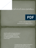 Trabajo Social en El Área Jurídica