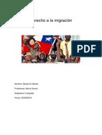 Derecho a La Migración.