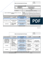 2. Matriz de Caracterización