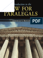 law for paralegals