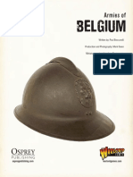 Bolt Action Belgian Army List