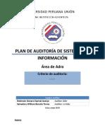 ADRA-Plantilla Del Plan de Auditoria de TI2