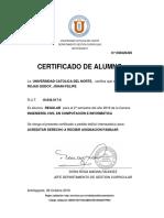 Certificado j
