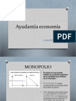 Ayudantia Economia Monopolio
