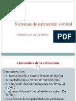 Extraccion Vertical Cinematica y Dinamica