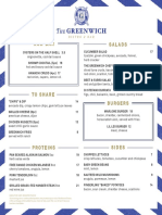 The Greenwich Menu