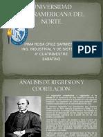 Analisis de Regresion y Coorrelacion