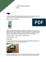 Equipos Medidores de Radiación