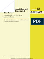7C - Caudal Epidural Steroid Injection - Ultrasound Guidance