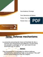 Mecanismos de Defensa Expo Unipre