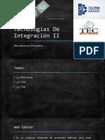 Tecnologías de Integración II Corrección Manu