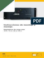 Regulador Solar Steca Solarix Prs Manual Usuario