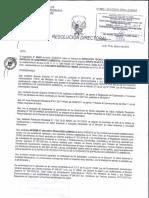 Resolucion Directoral Grupo i Sac