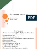 Clase 6 Gobierno de Pern Hasta 1951