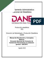 Manual de Recolección ENCSPA 2019 VF
