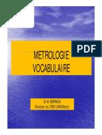 03 Vocabulaire Metrologique
