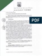 Da 001 2017 Prorrogar La Fecha de Vencimiento Señalada en El Literal b Del Articulo 5 de La Ordenanza n 444 Cdlo