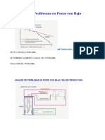 Analisis de Problemas en Pozos Con Baja Produccion