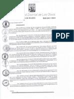 Da 013 2017 Aprobar Los Formatos Correspondientes de Los Procesos Administrativos y Servicios Prestados en Exclusividad Del Tupa