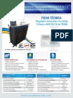 Regulador de Voltaje Trifásico 480V 75KVA DELTA