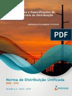 Ndu 010 - Padrões e Especificações de Materiais Da Distribuição