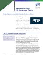 Entrepreneurship and SME Management Training