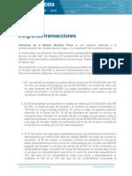 Ejercicio8 Integrando transacciones