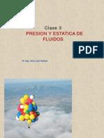 Chap03.1 Presion y Fluidoestatica