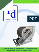 Catálogo geral motor ventilador