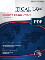 Practical Law Multi Jurisdictional Guide 2012 13