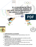 Bases Voley