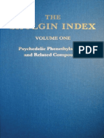 The Shulgin Index, Volume One