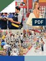 Reporte Sostenibilidad Sodimac 2009 Esp