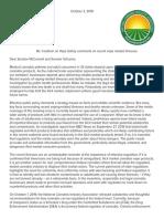 NCIA marijuana vaping letter