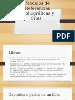 Modelos de Referencias Bibliográficas y Citas