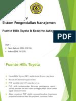 Kelompok 4 - Kasus 2 Puente Hills Toyota & Kooidtra Autogroep