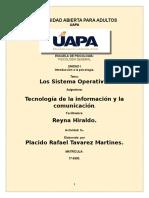 TAREA 2 DE TECNOLOGIA DE LA INFORMACION